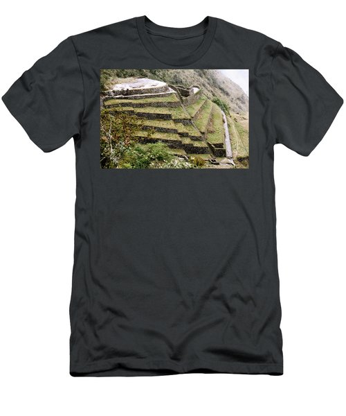 Tucked In A Mountain Men's T-Shirt (Athletic Fit)