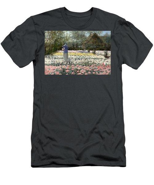 Tulip Culture Men's T-Shirt (Athletic Fit)