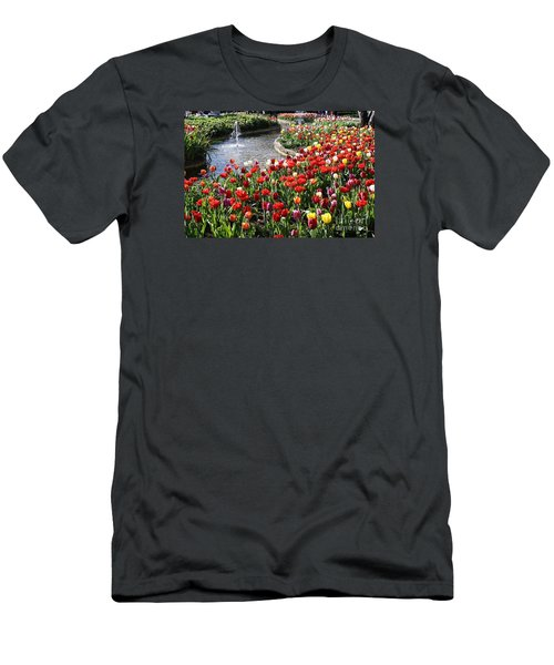 Tulip Festival Men's T-Shirt (Athletic Fit)