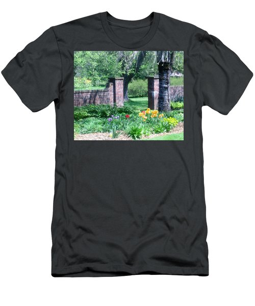 Tulips At Glen Magna Farms Men's T-Shirt (Athletic Fit)