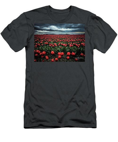 Tulips Forever Men's T-Shirt (Athletic Fit)