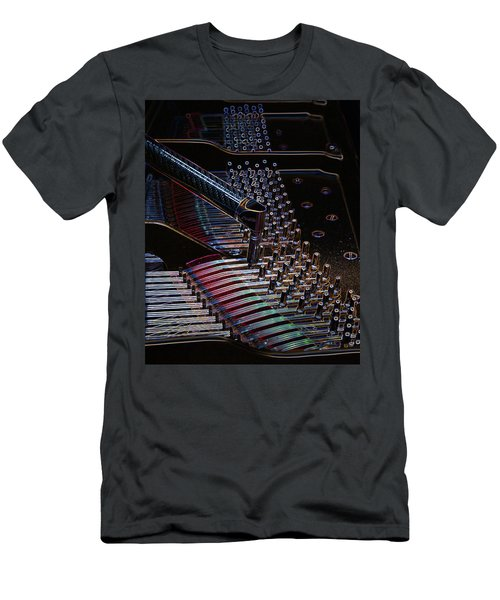 Tuning A Steinway For Jazz Men's T-Shirt (Athletic Fit)