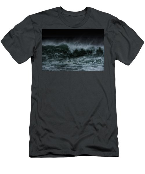 Turbulence Men's T-Shirt (Slim Fit) by Edgar Laureano