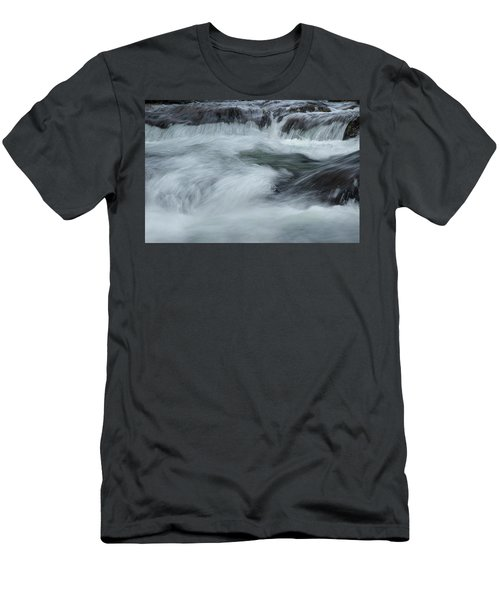 Men's T-Shirt (Slim Fit) featuring the photograph Turbulence  by Mike Eingle