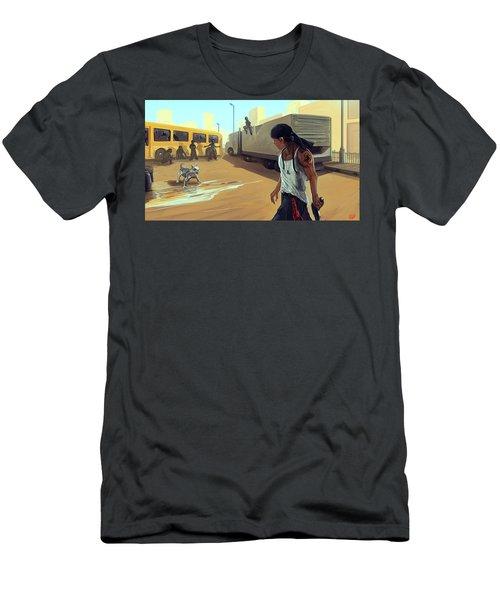 Turf War Men's T-Shirt (Athletic Fit)