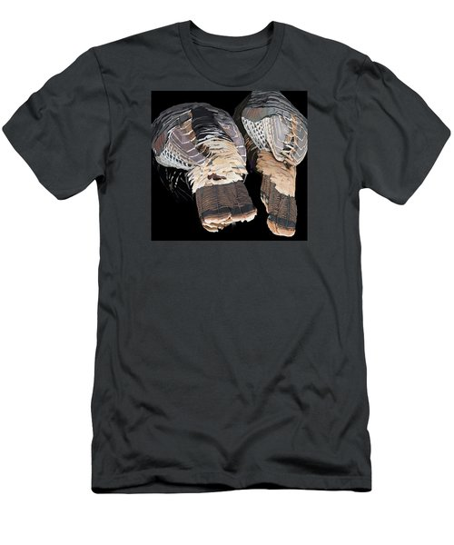 Turkey Tails Closeup Men's T-Shirt (Athletic Fit)