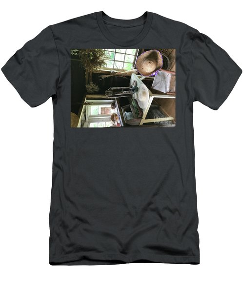 Turned Around Men's T-Shirt (Athletic Fit)