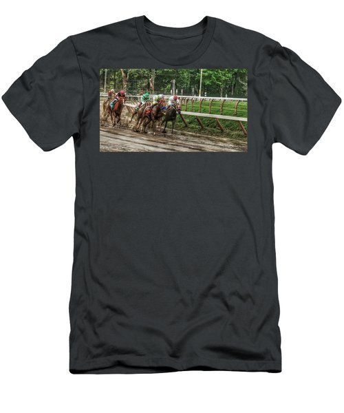 Turning The Mud Men's T-Shirt (Athletic Fit)