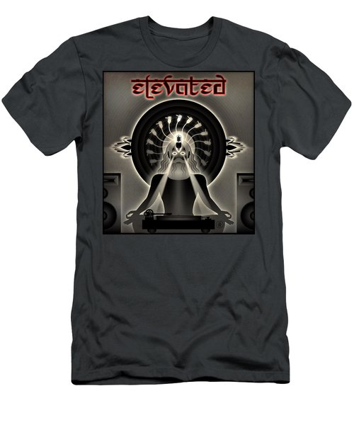 Turntable Guru Men's T-Shirt (Slim Fit) by Milton Thompson