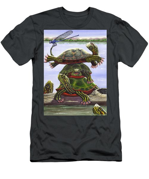Turtle Circus Men's T-Shirt (Athletic Fit)