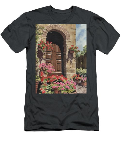 Tuscan Door Men's T-Shirt (Athletic Fit)