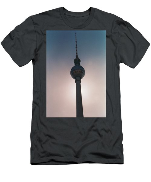 Tv Tower Berlin Men's T-Shirt (Athletic Fit)