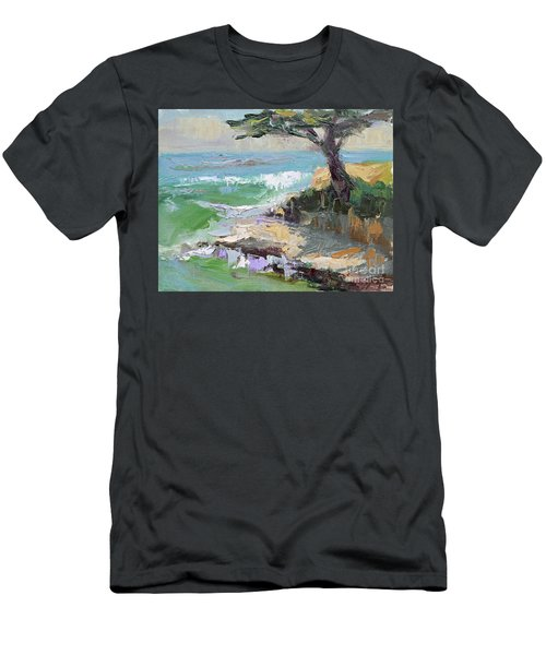 Twilight In Santa Cruz Men's T-Shirt (Athletic Fit)