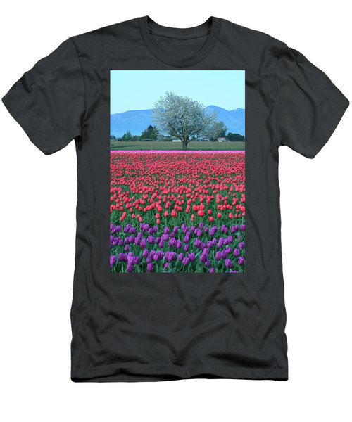 Twilight In Skagit Valley Men's T-Shirt (Athletic Fit)