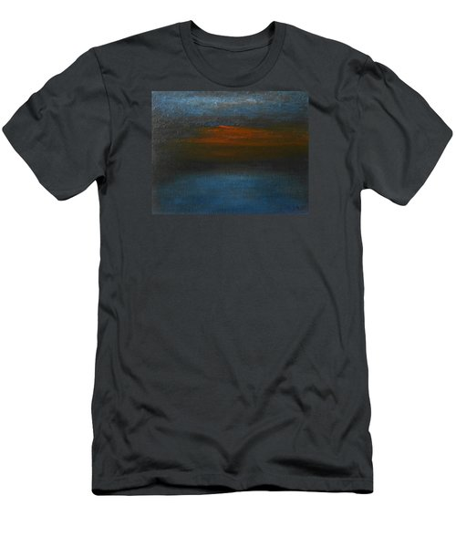 Men's T-Shirt (Slim Fit) featuring the painting Twilight by Jane See