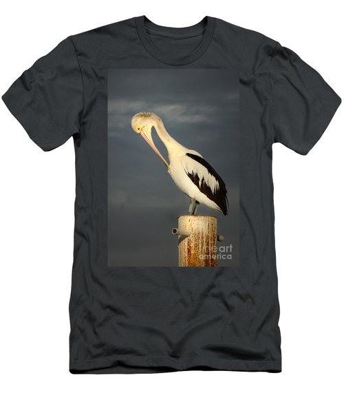 Men's T-Shirt (Slim Fit) featuring the photograph Twilight by Marion Cullen