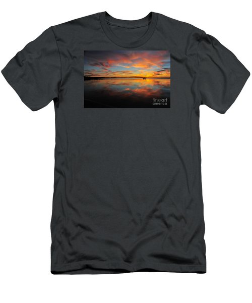 Twilight Reflection Men's T-Shirt (Athletic Fit)