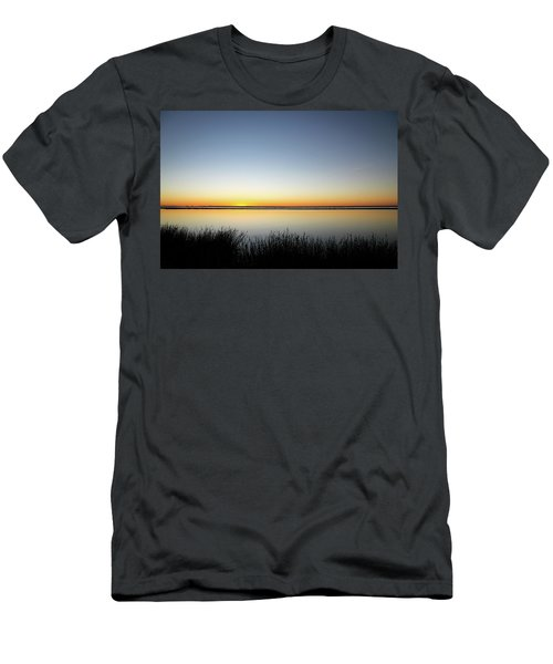 Twilight Stillness Down By The Beach Lagoon Men's T-Shirt (Athletic Fit)