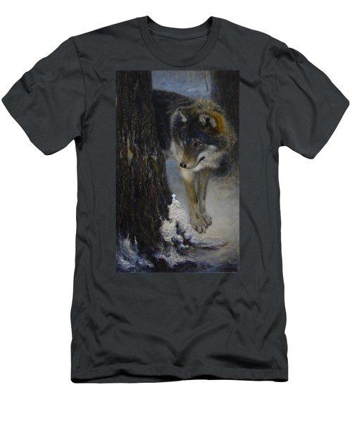 Twilight's Preyer  Men's T-Shirt (Athletic Fit)