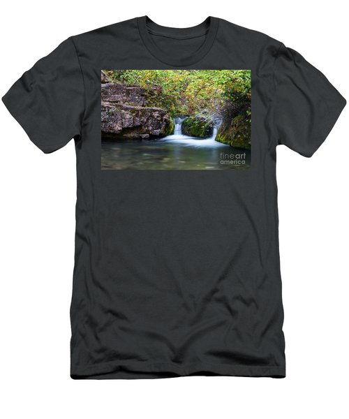 Twin Falls Men's T-Shirt (Athletic Fit)