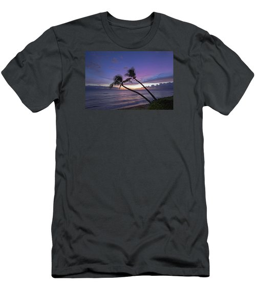 Twin Palms  Men's T-Shirt (Slim Fit) by James Roemmling