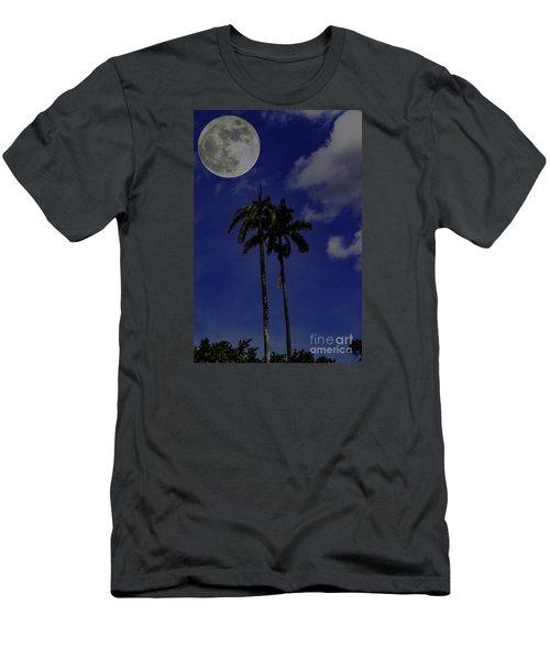 Twin Palms Men's T-Shirt (Slim Fit) by Ken Frischkorn