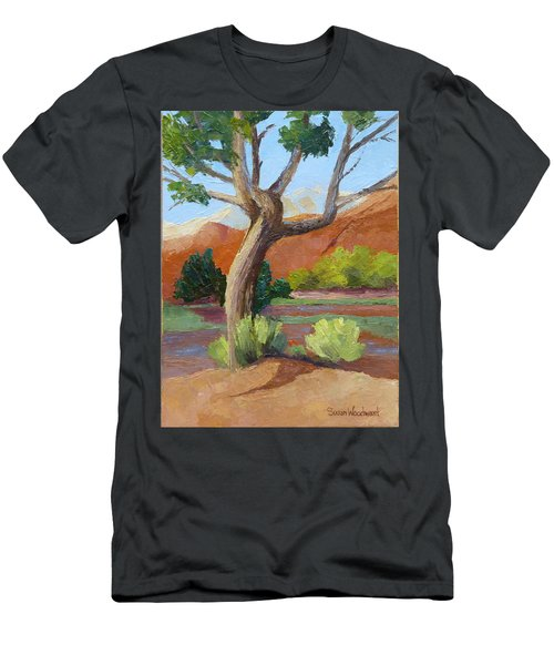Twisted Men's T-Shirt (Slim Fit) by Susan Woodward