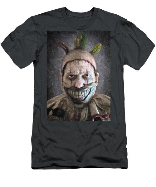 Twisty The Clown Men's T-Shirt (Athletic Fit)