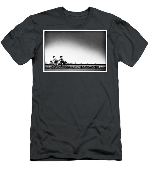 Men's T-Shirt (Athletic Fit) featuring the photograph Two Are Better Than One by Jingjits Photography