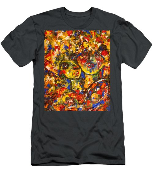 Two Best Friends Men's T-Shirt (Athletic Fit)