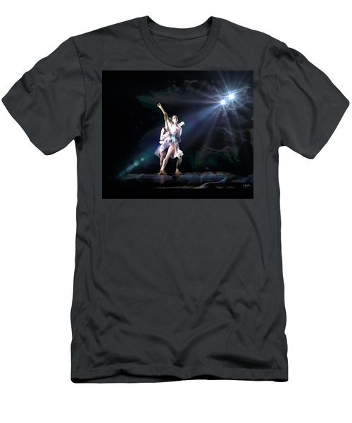 Two Dancers Men's T-Shirt (Athletic Fit)