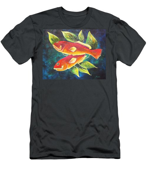 Two Fish Men's T-Shirt (Athletic Fit)