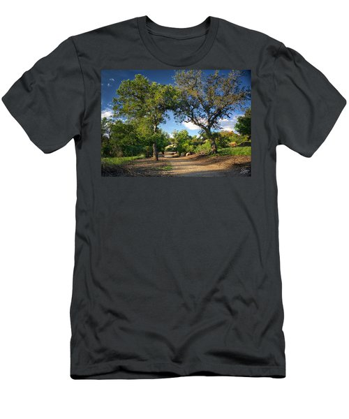 Two Old Oak Trees Men's T-Shirt (Slim Fit) by Endre Balogh
