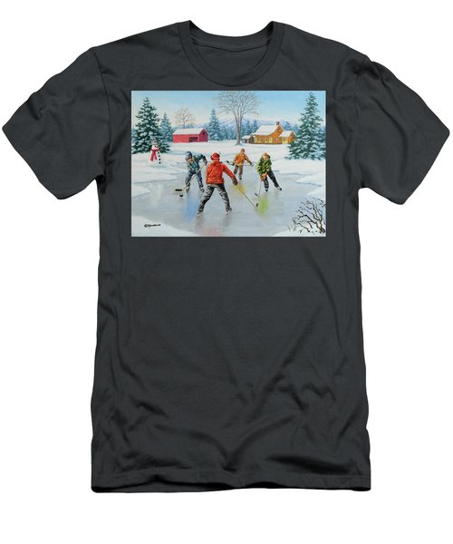 Two On One Men's T-Shirt (Athletic Fit)