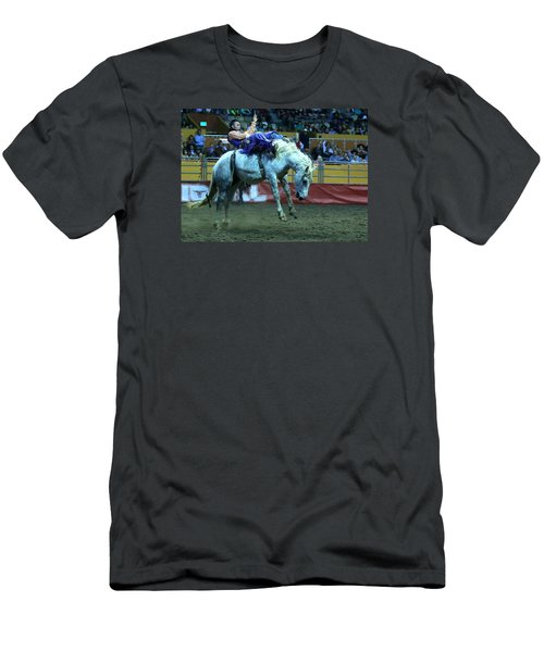 Two Seconds Later At The Grand National Rodeo Men's T-Shirt (Athletic Fit)
