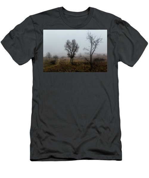 Two Trees In The Fog Men's T-Shirt (Athletic Fit)