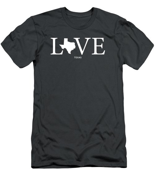 Tx Love Men's T-Shirt (Slim Fit) by Nancy Ingersoll