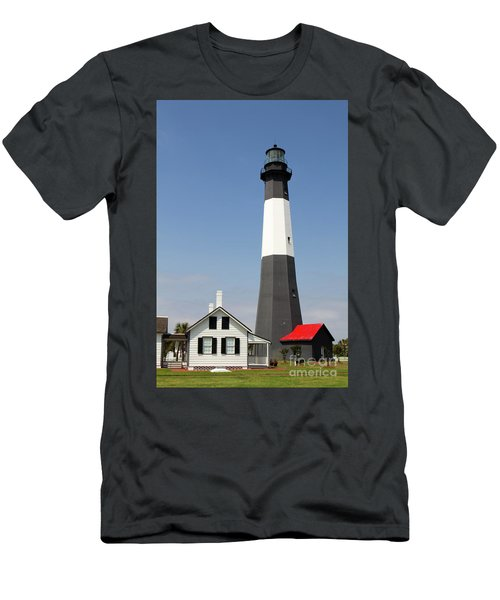 Tybee Lighthouse Georgia Men's T-Shirt (Athletic Fit)