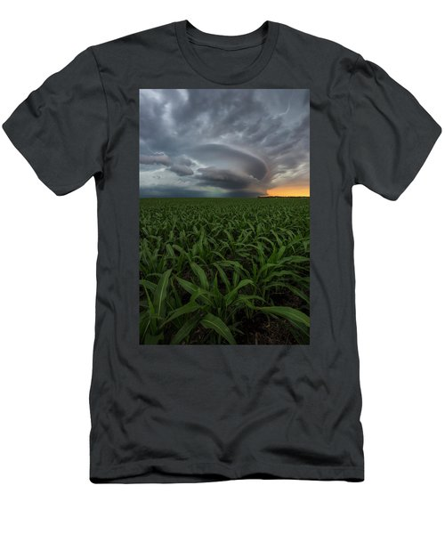 Men's T-Shirt (Athletic Fit) featuring the photograph UFO by Aaron J Groen