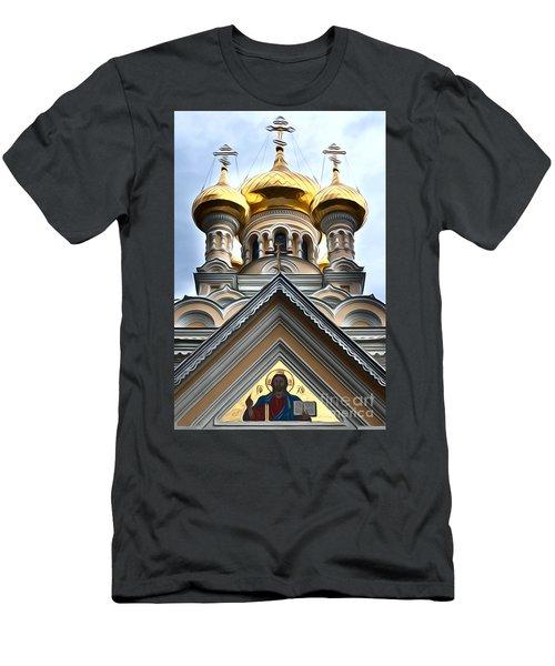 Ukrainian Church Men's T-Shirt (Athletic Fit)
