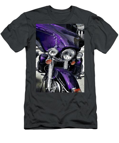 Ultra Purple Men's T-Shirt (Athletic Fit)