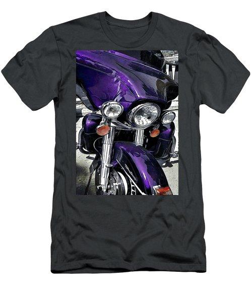 Ultra Purple Men's T-Shirt (Athletic Fit)