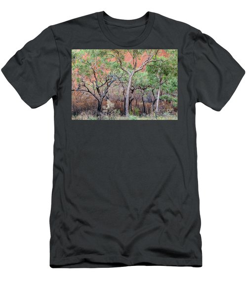 Men's T-Shirt (Athletic Fit) featuring the photograph Uluru 05 by Werner Padarin