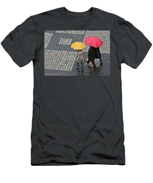 Rainy Day In Heidelberg Men's T-Shirt (Athletic Fit)