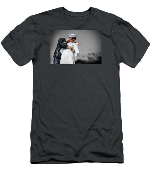Unconditional Surrender 1 Men's T-Shirt (Slim Fit) by Susan  McMenamin