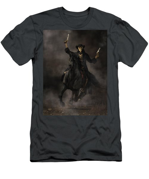 Undead Outlaw Men's T-Shirt (Athletic Fit)