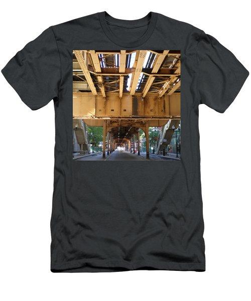 Under The El - 1 Men's T-Shirt (Athletic Fit)