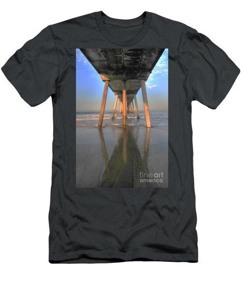 Under The Hermosa Pier Men's T-Shirt (Athletic Fit)
