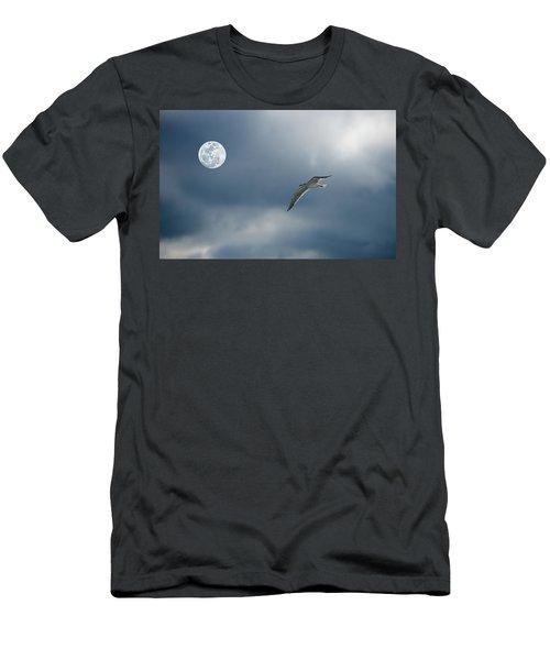 Under The Moon Men's T-Shirt (Athletic Fit)