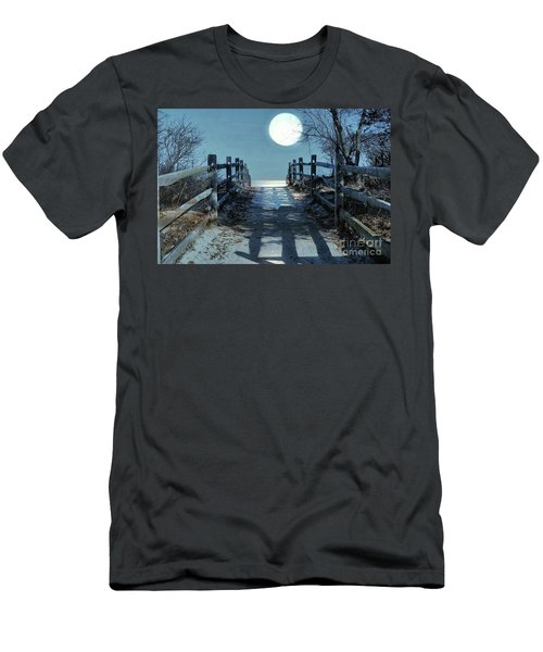 Under The Moonbeams Men's T-Shirt (Athletic Fit)